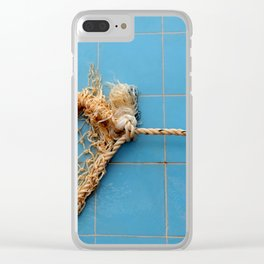 Knot The Sea Clear iPhone Case