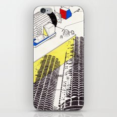 Marina City iPhone & iPod Skin