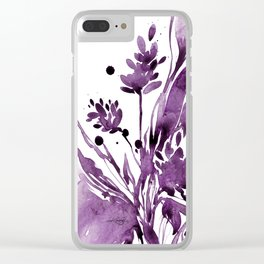 Organic Impressions No.104 by Kathy Morton Stanion Clear iPhone Case
