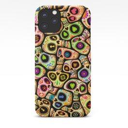 Calaveras del Día de los Muertos. iPhone Case