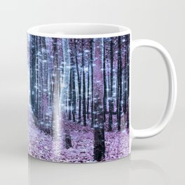 Magical Forest Lavender Ice Blue Periwinkle Coffee Mug