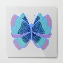 Butterfly Flipside Metal Print