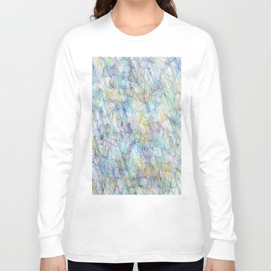Smoke pattern Long Sleeve T-shirt