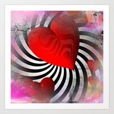 love is everywhere -1- Art Print