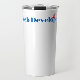 Web Developer Ninja in Action Travel Mug