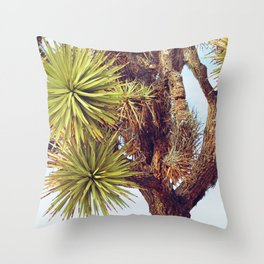 Joshua Tree Up Close Throw Pillow