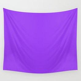 Bright Fluorescent Neon Purple Wall Tapestry