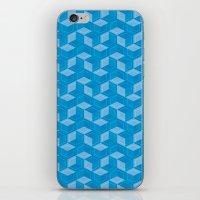 escher iPhone & iPod Skins featuring Escher #007 by rob art | simple