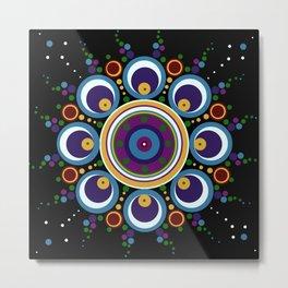 Yukon Mandala Metal Print