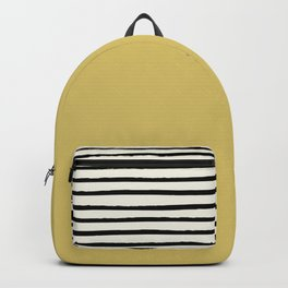 Daffodil Yellow x Stripes Backpack
