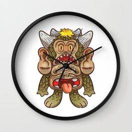 monster friend Wall Clock