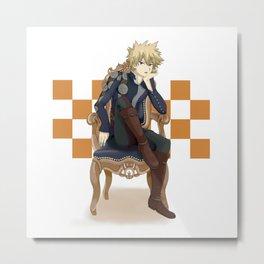 Prince Katsuki Metal Print