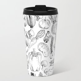 market fresh vegetables Travel Mug