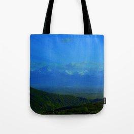 Valley Burst Tote Bag