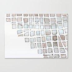 urbania metropol I Canvas Print