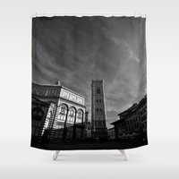 florence Shower Curtains featuring Florence III by VanessaGF