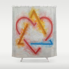 Adoption Symbol Shower Curtain