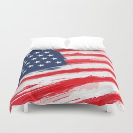 Flag of the United States of America Duvet Cover