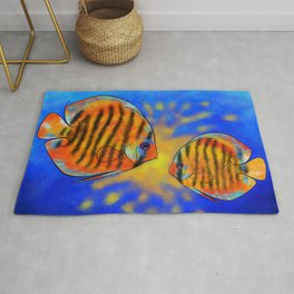 Discussios V1 - amazing discus Rug