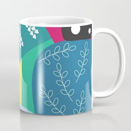 Abstract summer route Coffee Mug