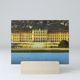 Schonbrunn Palace Mini Art Print