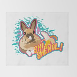 SHI SHEÑOL! Throw Blanket