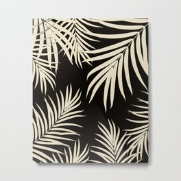 Palm Leaves Pattern Summer Vibes #9 #tropical #decor #art #society6 Metal Print