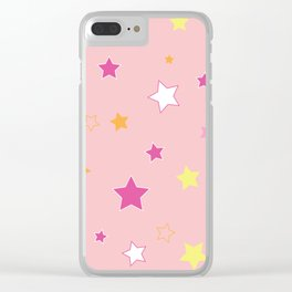 Little stars Clear iPhone Case