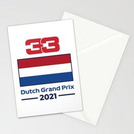 33 Ver - Dutch Grand Prix 2021 Stationery Cards