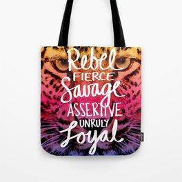 Rebel Rebel Tote Bag