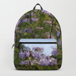 Prairie Bergamot Monarda Backpack