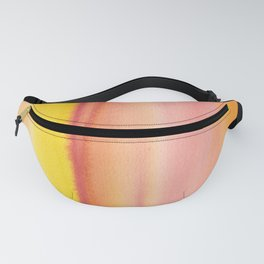 7     190728   Romance Watercolour Painting Fanny Pack