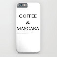Coffee & Mascara Slim Case iPhone 6s