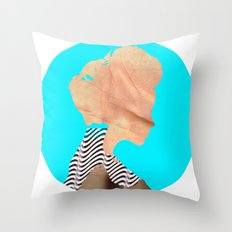 A strange kind of woman · the blue one · Crop Circle Throw Pillow