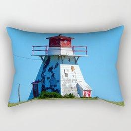Lighthouse in Disrepair Rectangular Pillow