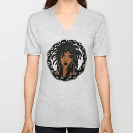 Miss Medusa Unisex V-Neck