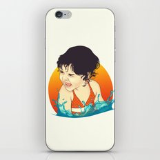 Water Splashes iPhone & iPod Skin