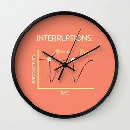 Interruptions Wall Clock
