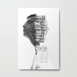 Nature Architect Metal Print