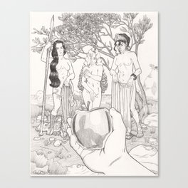 The Judgement of Paris Canvas Print