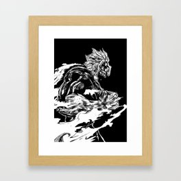 All might Framed Art Print