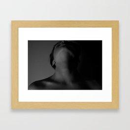 Neck and Bone Framed Art Print