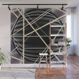 Crossroads -3D circle Wall Mural