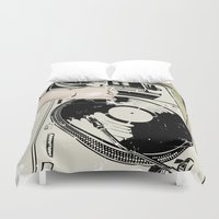 dj Duvet Covers featuring DJ! by Parrish