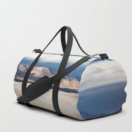 Sunlight on San Andres - Desert Scenery at White Sands New Mexico Duffle Bag