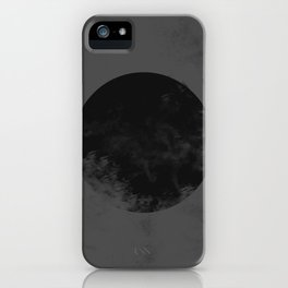 Black Japan Flag iPhone Case