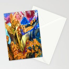 Mikhail Vrubel Fallen Demon Stationery Cards