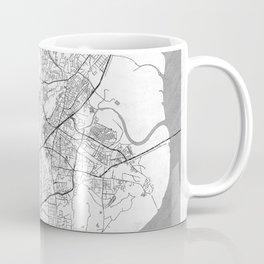 Mumbai Map Line Coffee Mug