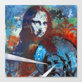 Finding Mona Canvas Print