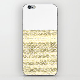 Riverside Gold iPhone Skin